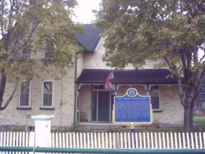 L.M. Montgomery home in Norval, Ontario