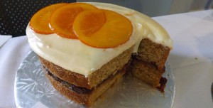 Donna Pitcher's prize-winning Spiced Orange Marmalade Cake